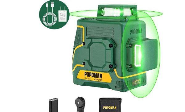 Niveau Laser Double Ligne 360° Popoman Mtm340b
