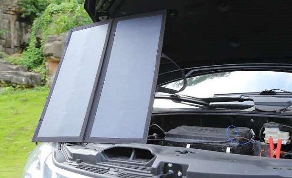 Panneaux Solaires 60w Chargeur De Batterie 12v Auto Moto Aukey Pb P10