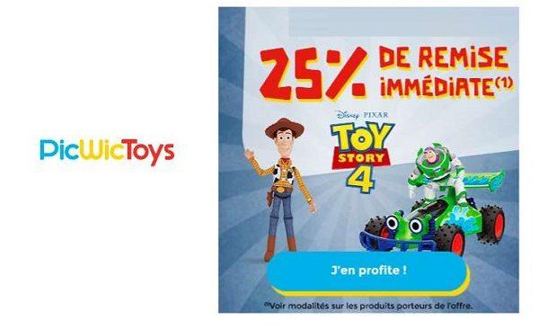 Remise Immédiate Sur Articles Toy Story Sur Picwictoys