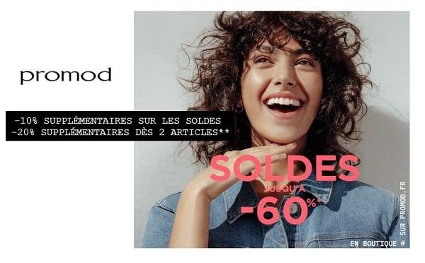 Soldes Promod 10% Supplémentaire Sans Mini Et 20% Supplémentaire Dès 2 Articles