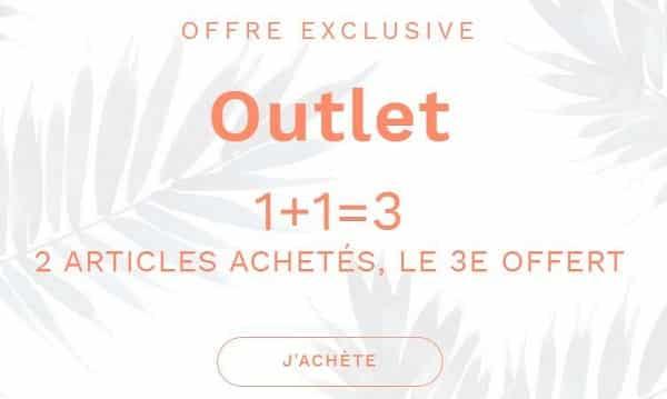 2 Articles Achetés Le 3e Offert Sur Tout L'outlet Etam