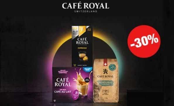30% D'économie Sur Vos Capsules Café Royal Compatibles Nespresso Ou Dolce Gusto