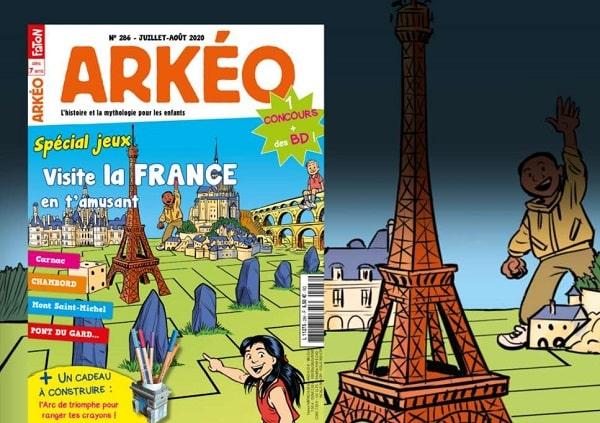 Abonnement Magazine Arkéo Junior Pas Cher