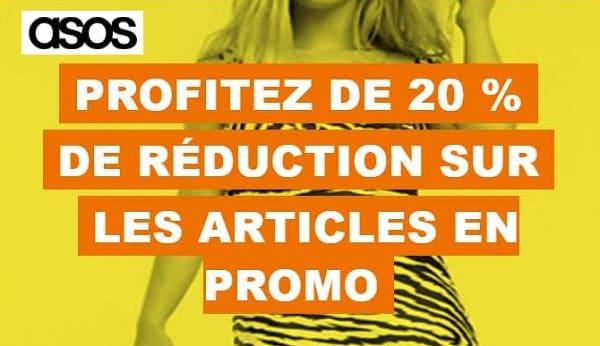 Code Promo Asos 20% De Remise Supplémentaire Sur Les Articles En Promo
