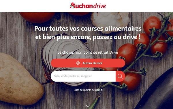 Nouveau Client Auchan Drive Profitez De 8€ De Remise Sur Une Commande De 50€