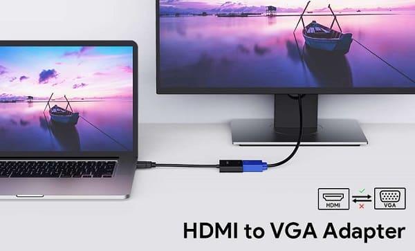 Adaptateur Hdmi Vers Vga 1080p Aukey Cb V4