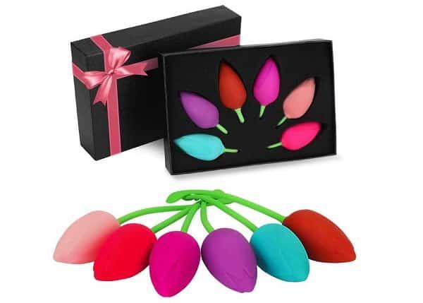 Coffret Boules De Geishas En Forme De Tulipes Kegel Balls