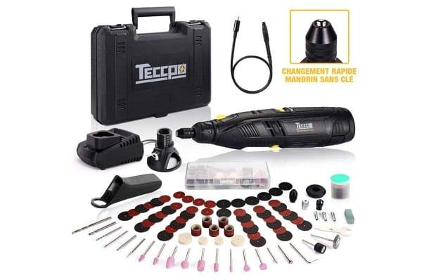 Coffret Outil Multifonctions Rotatif Teccpo Tdrt03p