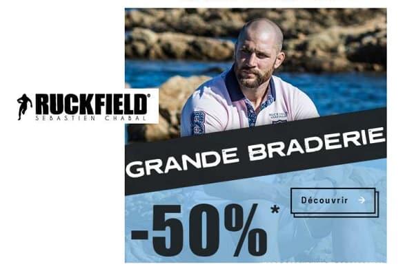 Grande Braderie Ruckfield Sébastien Chabal