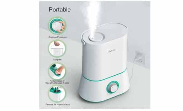 Humidificateur D'air Iteknic Promo