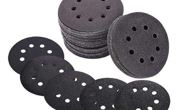 lot de 120 disque de papiers abrasifs pour ponceuse Ø 125 mm teccpo
