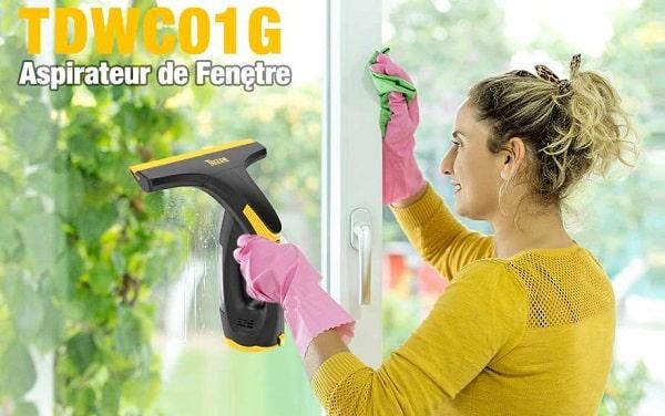 Nettoyeur De Vitres électrique Portable Teccpo Tdwc01