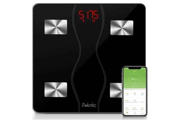 Pèse Personne Impédancemètre Connecté Bluetooth Iteknic
