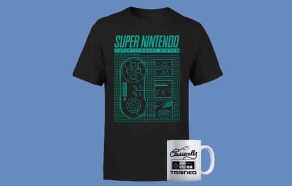 Pack Nintendo T Shirt + Tasse Au Choix Sur Zavvi