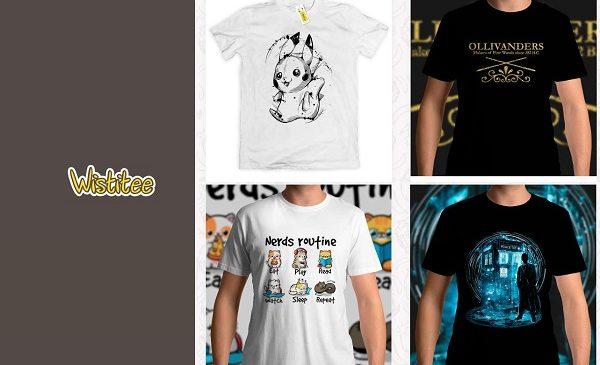 Remise Sur La Boutique Wistitee T Shirts Geek Et Pop Culture D'artistes Indépendants