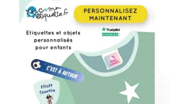 Remise Sur Les Commandes Sur C Monetiquette étiquette Thermocollante, étiquettes Vêtements..