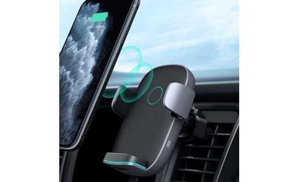 support chargeur sans fil de voiture 7,5w 10w hd c52