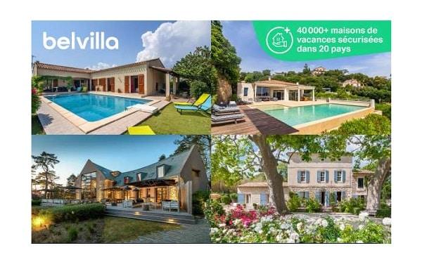 100€ De Réduction Sur La Réservation Des Maisons De Vacances Sur Belvilla