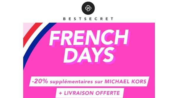 20% De Reduction Sur Michael Kors En Promotion sur Bestsecret