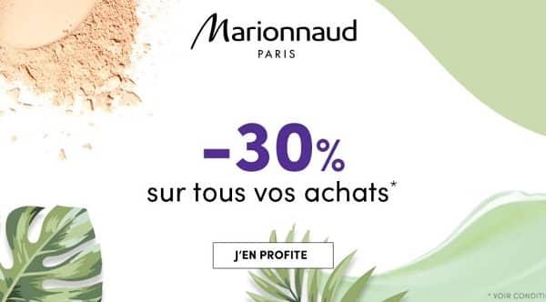 30% De Remises Sur Marionnaud Jusqu'à Dimanche Soir