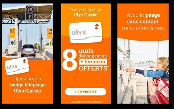 8 Mois D'abonnement Et La Livraison Offerts Sur Le Badge Télépéage Ulys – Vinci Autoroutes Classic