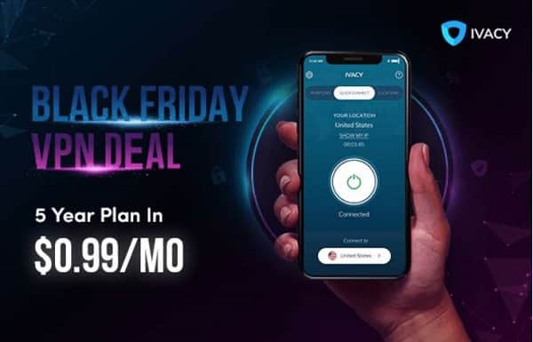 Black Friday Ivacy Vpn