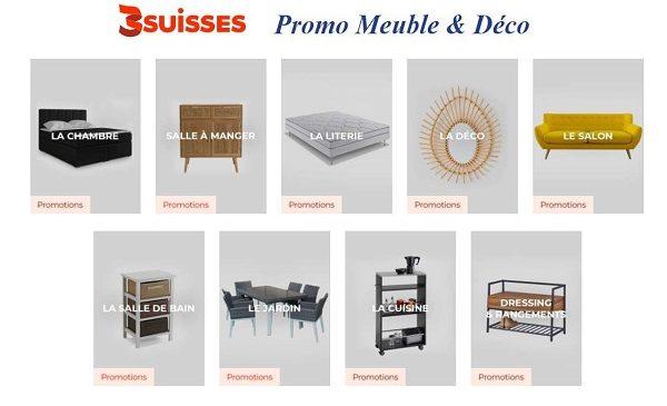 Bonnes Affaires Promotions Meuble & Déco 3suisses