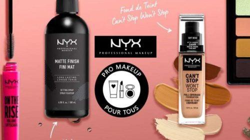 Code Promo Du Moment Nyx Cosmetics