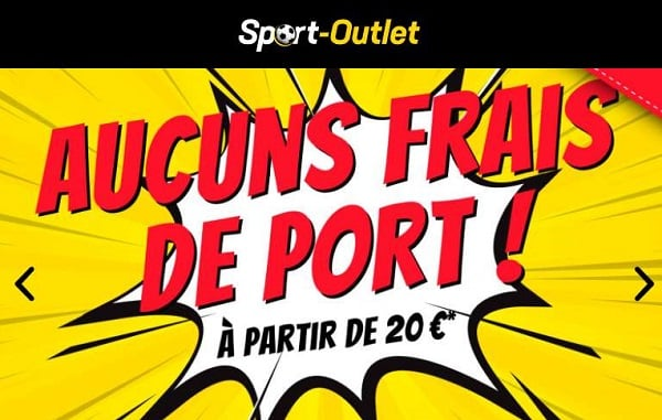 Livraison Gratuite Sur Sport Outlet à Partir De 20€