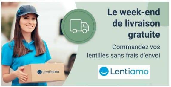 Livraison Domicile Gratuite Sur Toutes Les Commandes De Lentilles De Contact Sur Lentiamo