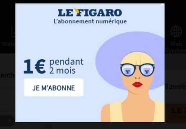 Offre Abonnement Le Figaro – Edition 100% Numérique
