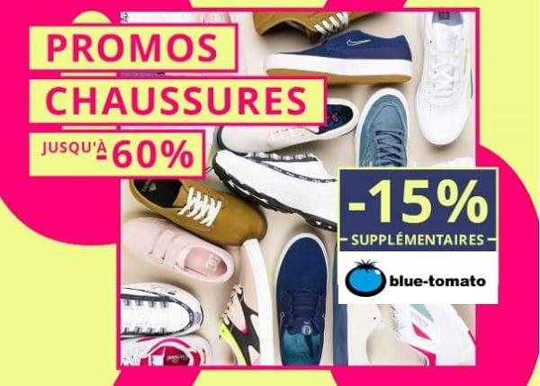 Réduction Supplémentaire De 15% Sur Toutes Les Chaussures Déjà Réduites Sur Blue Tomato