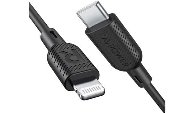 Câble Usb Lightning Vers Usb C Pd Ravpower