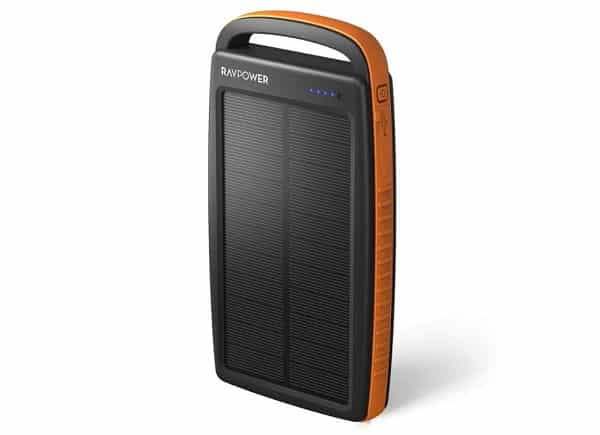 Chargeur Solaire 20000mah Ravpower 2 Ports