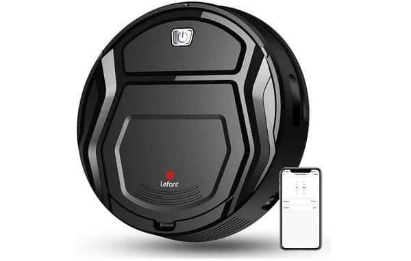 Petit Aspirateur Robot Wifi Avec Capteur De Collision Et Recharge Auto Lefant M201