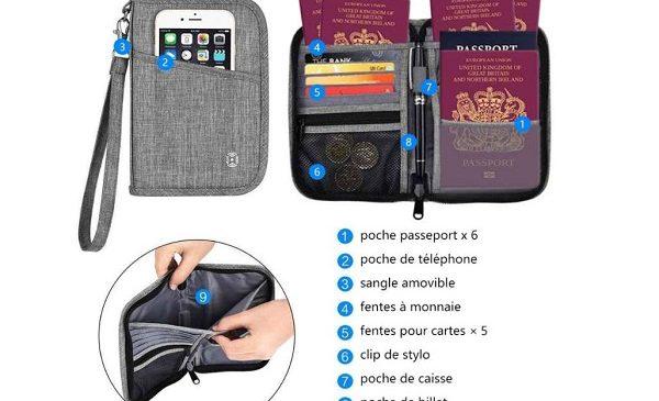 Portefeuille Spéciale Passeport Familial Hopai