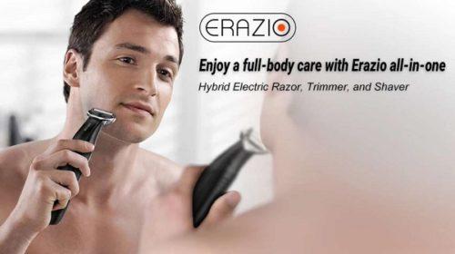 Rasoir Et Tondeuse Barbe Cheveux Hybride Erazio Eom 02 Rechargeable