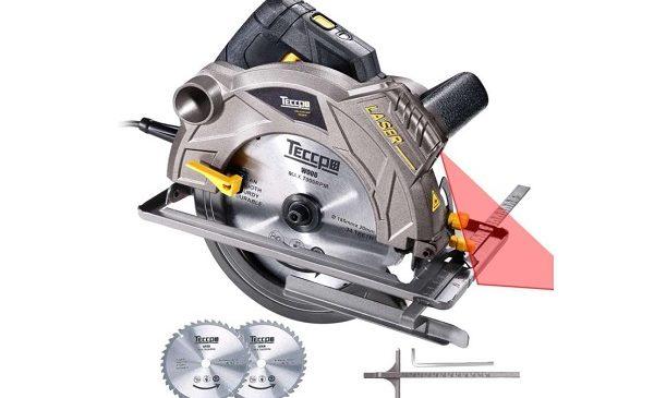 Scie Circulaire 1500w Teccpo Professional Tacs01p