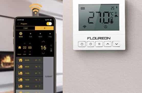 Thermostat Wifi Programmable Floureon Chauffage, Chaudière