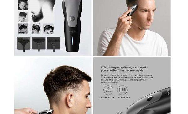 Tondeuse Cheveux Rechargeable Enchen Hummingbird Par Xiaomi