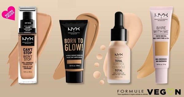 10€ De Remise Sur Tout Le Site Nyx Professional Make Up