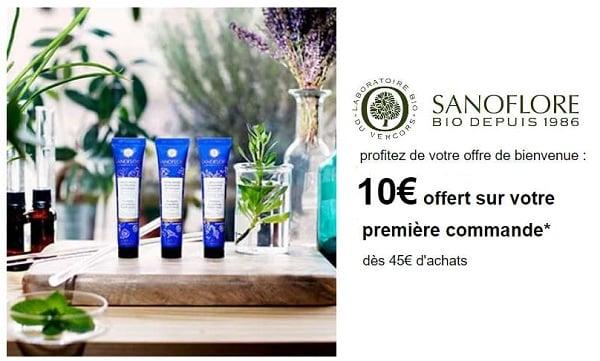 10€ Offert Sur Votre Première Commande Sur Sanoflore
