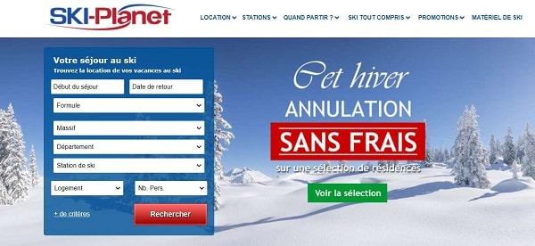 Annulation Sans Frais Sur Votre Séjour Au Ski Cet Hiver Avec Ski Planet