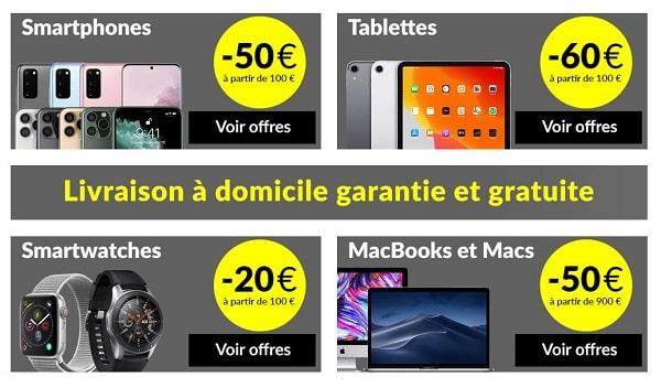 Bonnes Affaires Reconditionnés Asgoodasnew Remise Sur Les Smartwatch, Smartphones, Tablettes Et Mac
