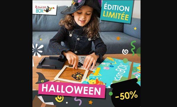 Box Créative Enfant Toucanbox Spécial Halloween Moitié Prix