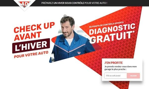 Check Up Avant Hiver De Votre Voiture Avec 30 Points De Contrôles Offert Dans Les Garages Du Réseau Ad