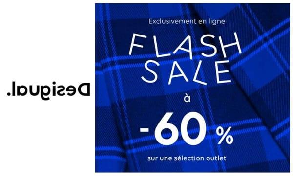 Flash Desigual 60% De Remise Sur Une Large Sélection D'articles Pour Femme Et Homme