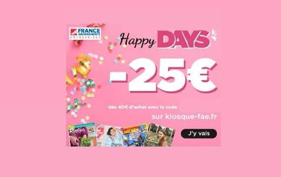 Happy Days Sur Les Abonnements Magazines