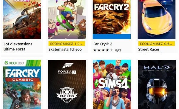 Jours Xbox (hall Of Fame) Sur Le Store Microsoft
