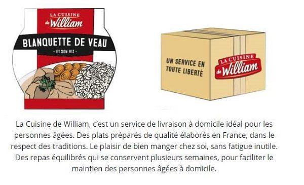 La Cuisine De William 7 Plats Tout Prêts Achetés = La Livraison Offerte